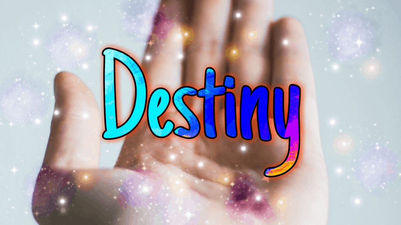 take charge of destiny
